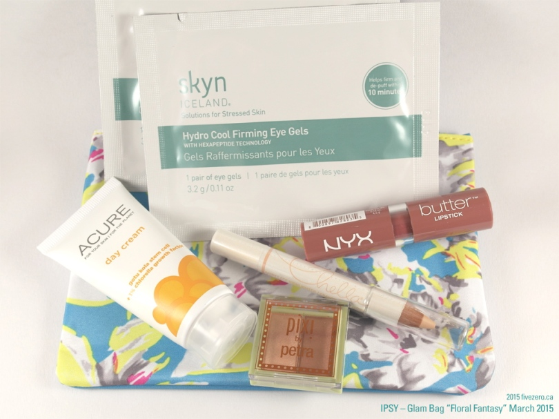 fivezero's March 2013 Ipsy Glam Bag