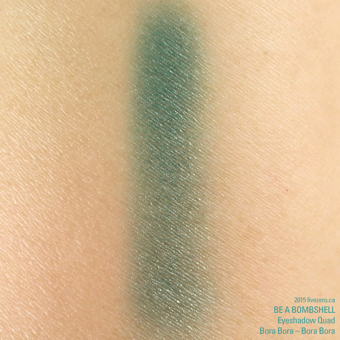 Be a Bombshell Eyeshadow Quad in Bora Bora, swatch Bora Bora