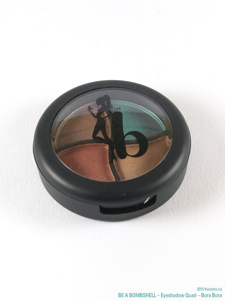 Be a Bombshell Eyeshadow Quad in Bora Bora