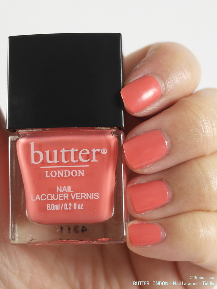 butter LONDON 3 Free Nail Lacquer in Tiddly, swatch