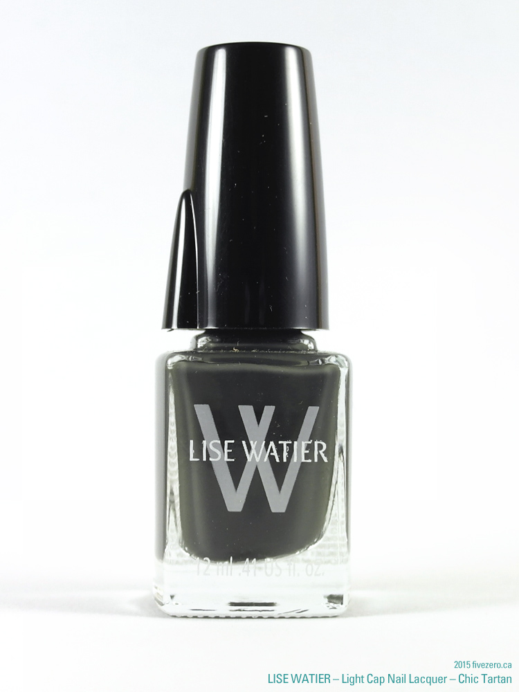Lise Watier Light Cap Nail Lacquer in Chic Tartan