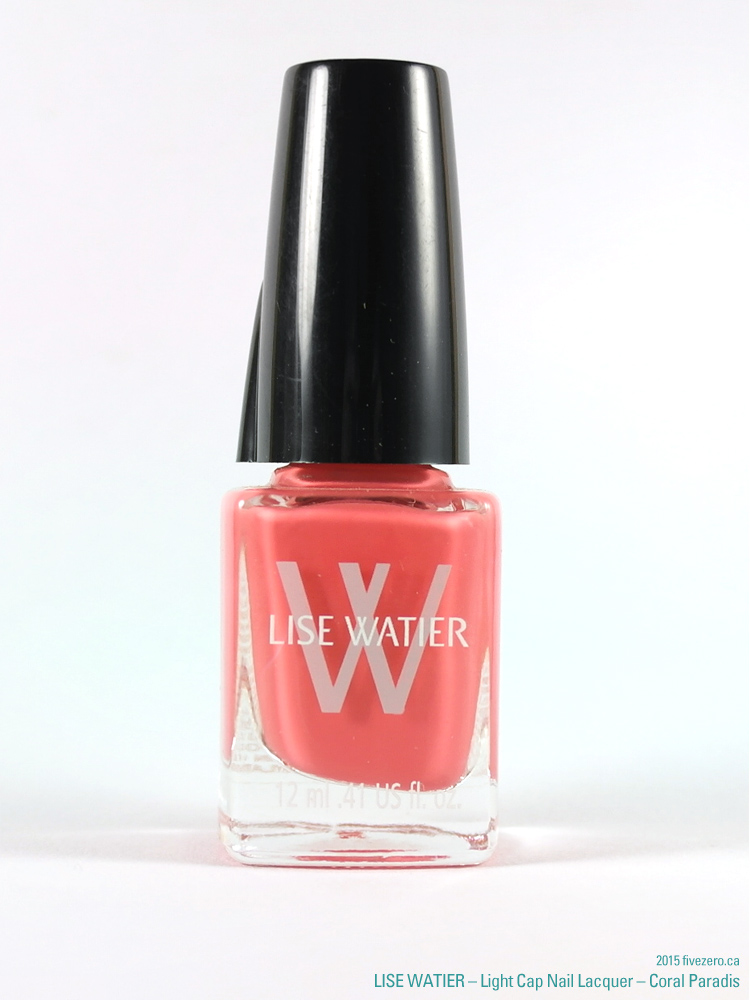 Lise Watier Light Cap Nail Lacquer in Coral Paradis