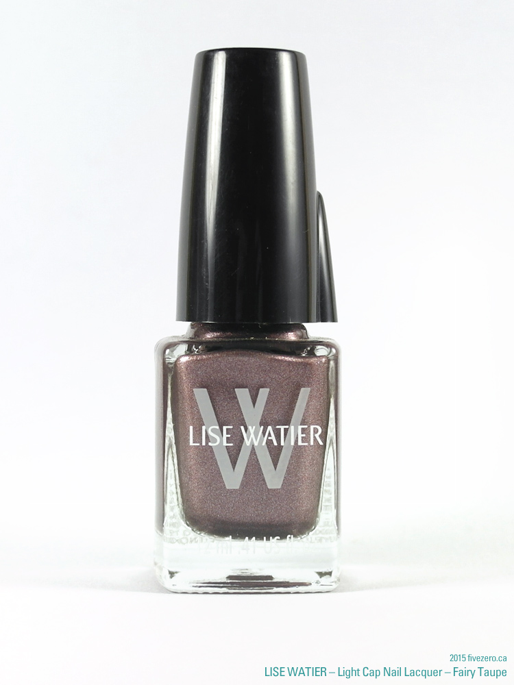 Lise Watier Light Cap Nail Lacquer in Fairy Taupe