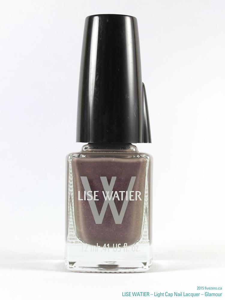 Lise Watier Light Cap Nail Lacquer in Glamour