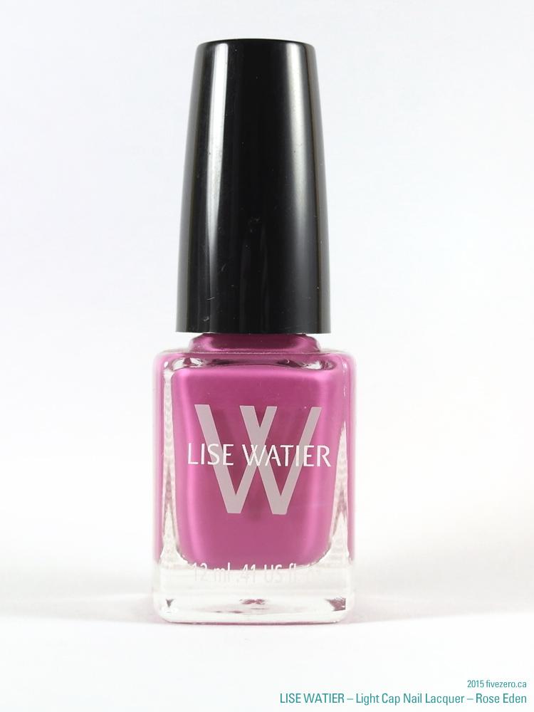 Lise Watier Light Cap Nail Lacquer in Rose Eden