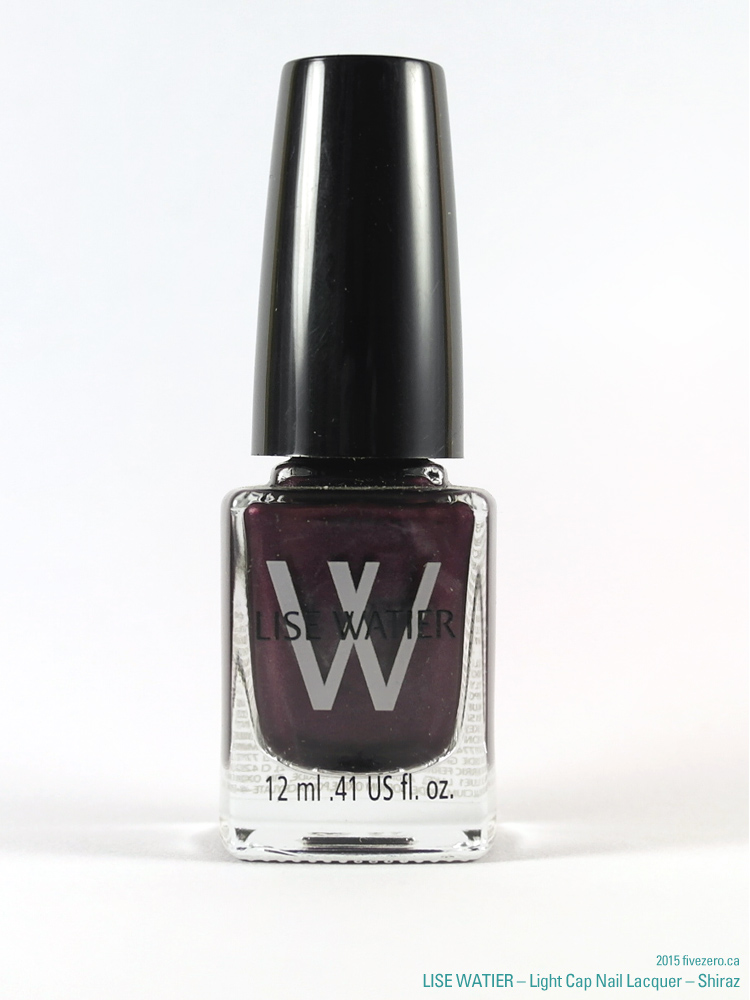 Lise Watier Light Cap Nail Lacquer in Shiraz