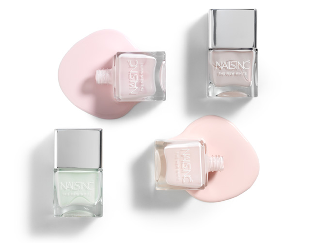 Nails Inc spring pastel nail polishes
