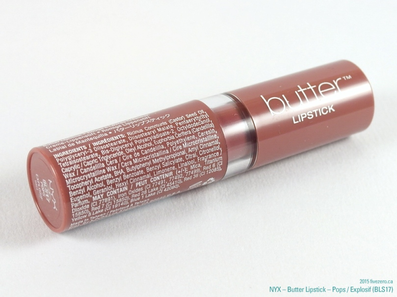 NYX Butter Lipstick in Pops