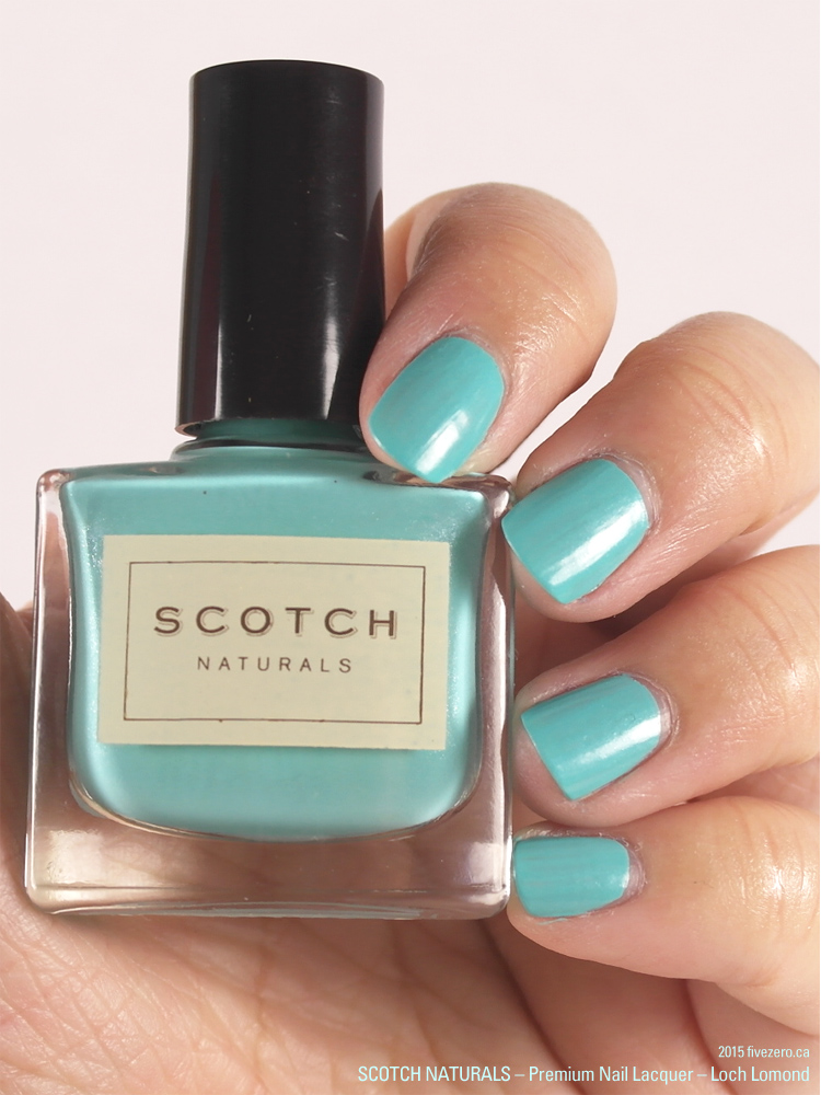 Scotch Naturals Premium Nail Lacquer in Loch Lomond, swatch