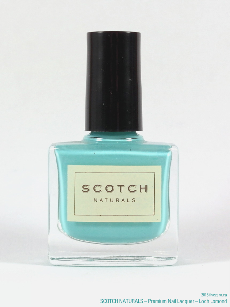 Scotch Naturals Premium Nail Lacquer in Loch Lomond