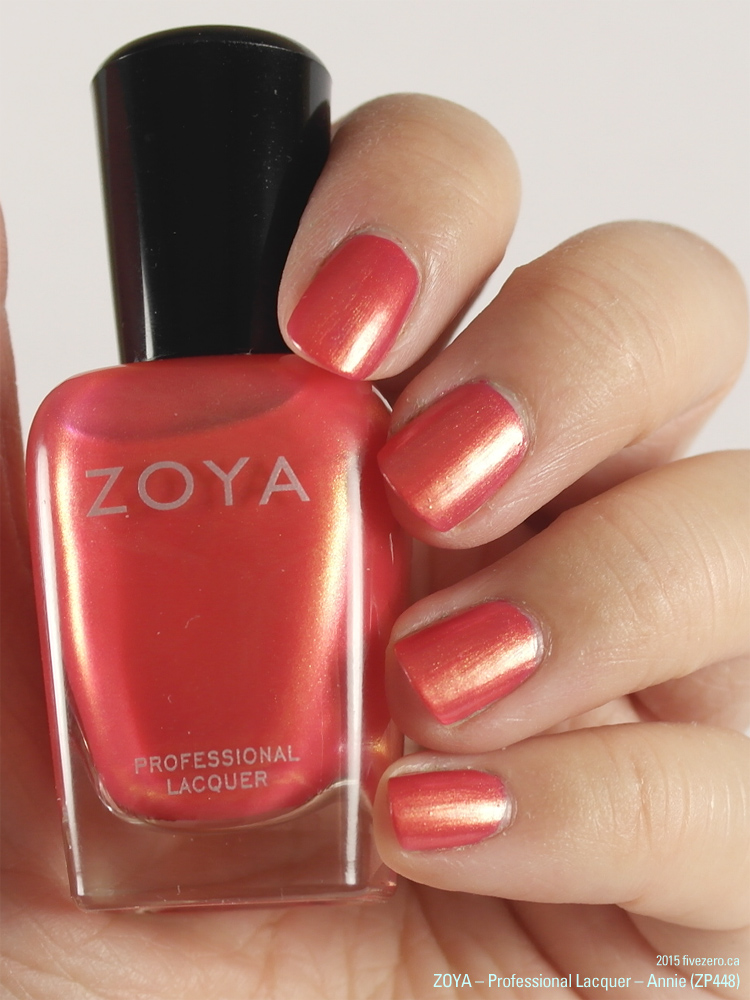 Zoya Professional Lacquer in Annie, swatch