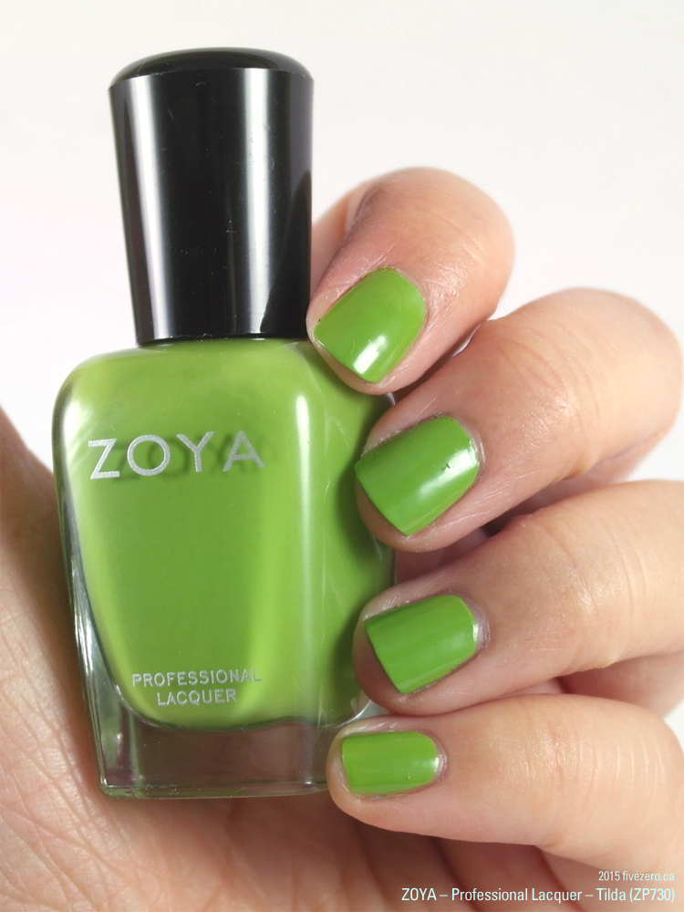 Zoya Professional Lacquer in Tilda, swatch