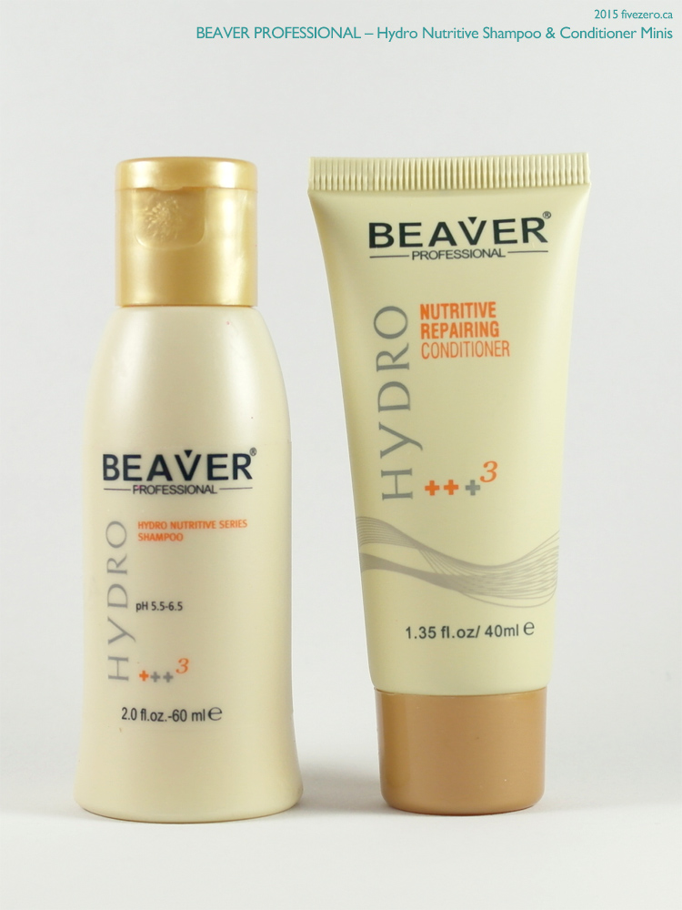 Beaver Professional Hydro Nutritive Shampoo & Conditioner (Birchbox mini)