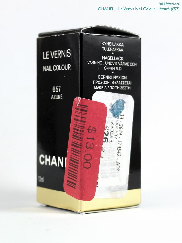 Chanel Le Vernis Nail Colour in Azuré