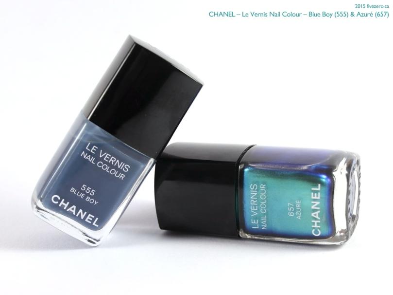 Chanel Le Vernis Nail Colour in Blue Boy and Azuré