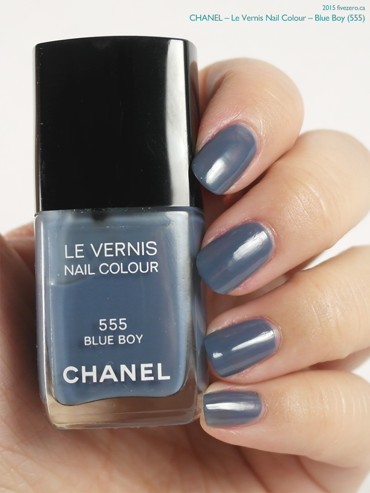 Chanel Le Vernis Nail Colour in Blue Boy, swatch