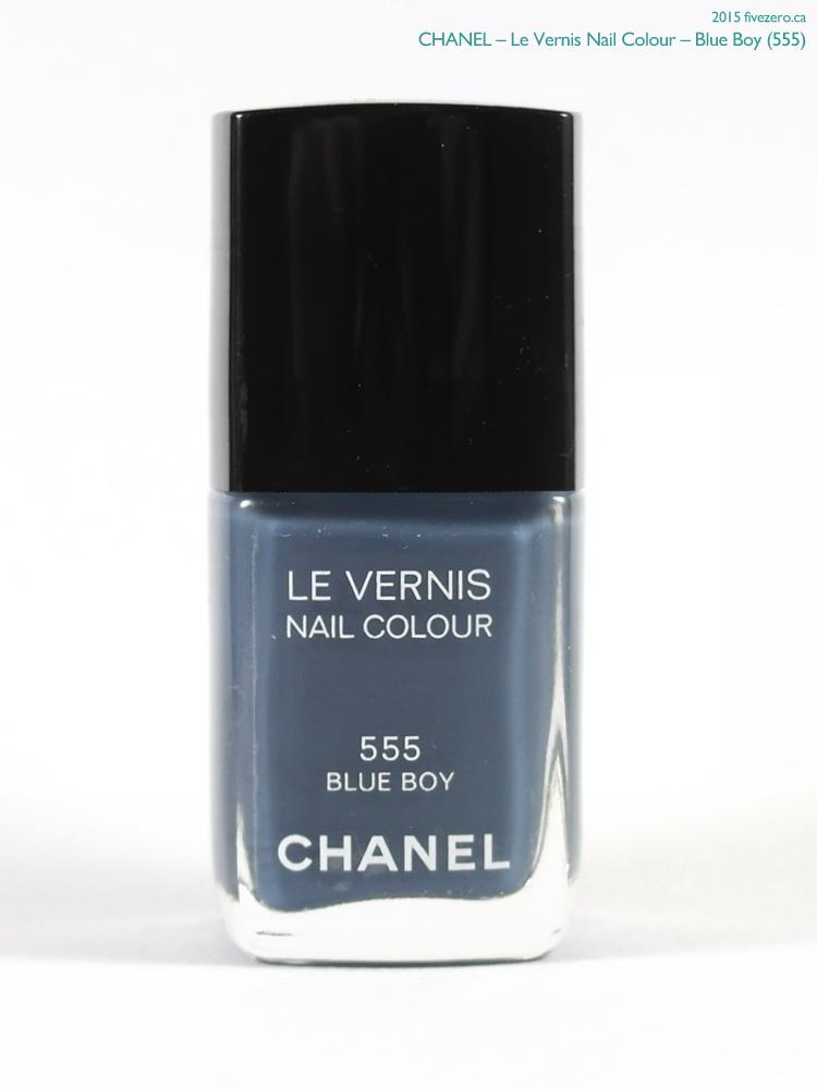 Chanel Le Vernis Nail Colour in Blue Boy
