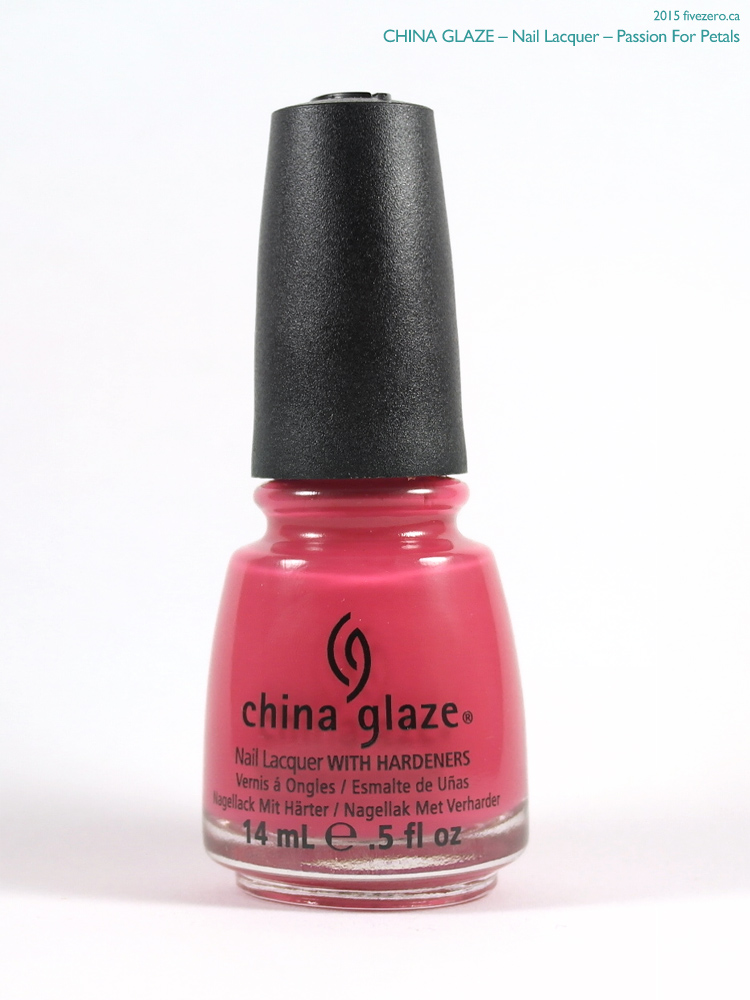 China Glaze Nail Lacquer in Passion For Petals