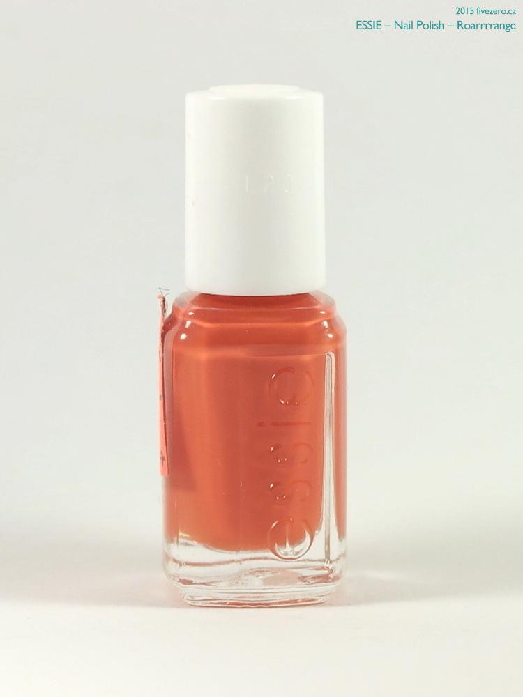 Essie Nail Polish (mini) in Roarrrrange