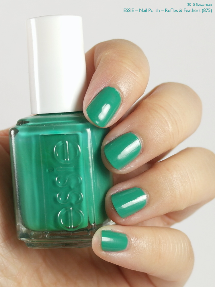 Essie Nail Polish in Ruffles & Feathers, swatch