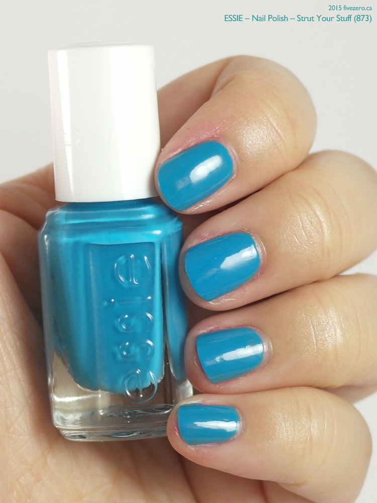 Essie Nail Polish in Strut Your Stuff, swatch