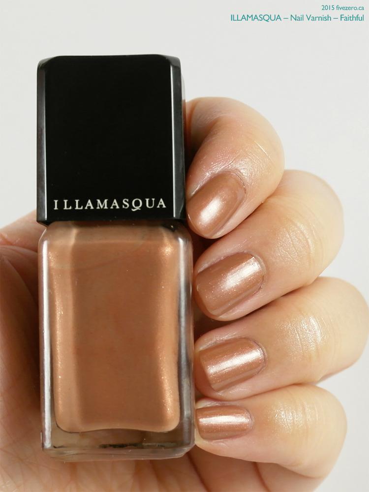 Illamasqua Nail Varnish in Faithful, swatch