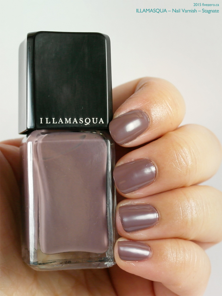 Illamasqua Nail Varnish in Stagnate, swatch