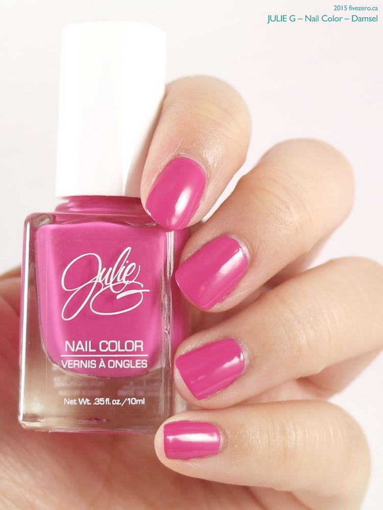 JulieG Nail Color in Damsel, swatch