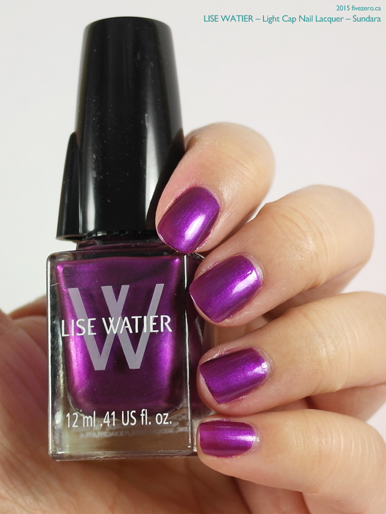 Lise Watier Light Cap Nail Lacquer in Sundara, swatch