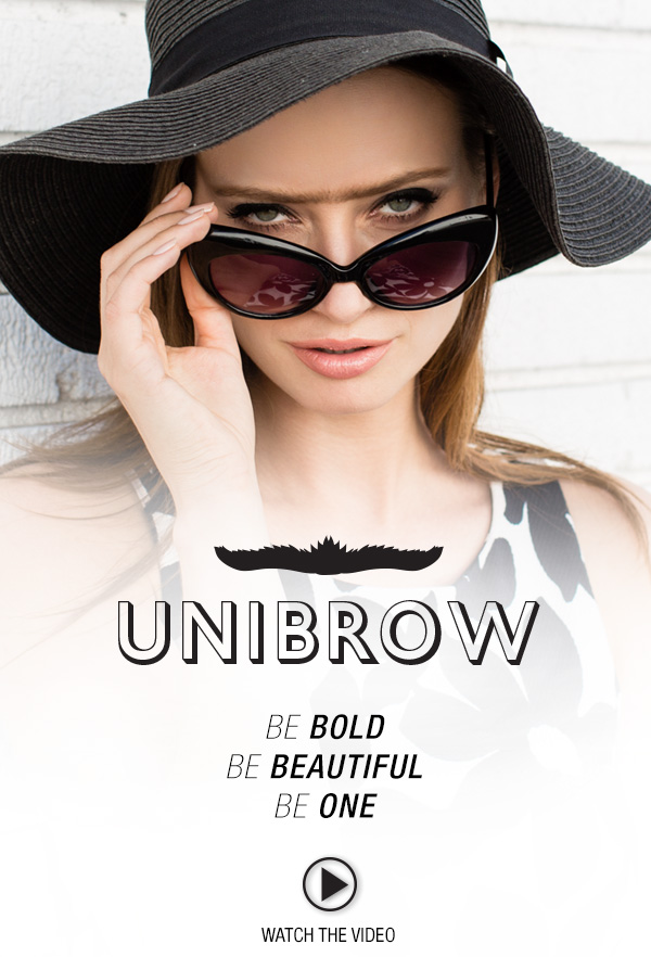 NYX's Unibrow April Fool's Day 2015
