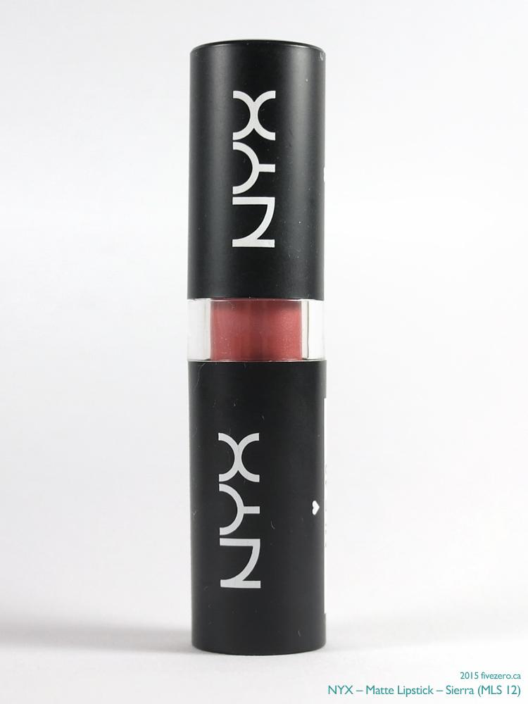 NYX Matte Lipstick in Sierra