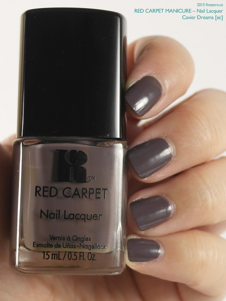 Red Carpet Manicure Nail Lacquer in Cavier Dreams [sic], swatch