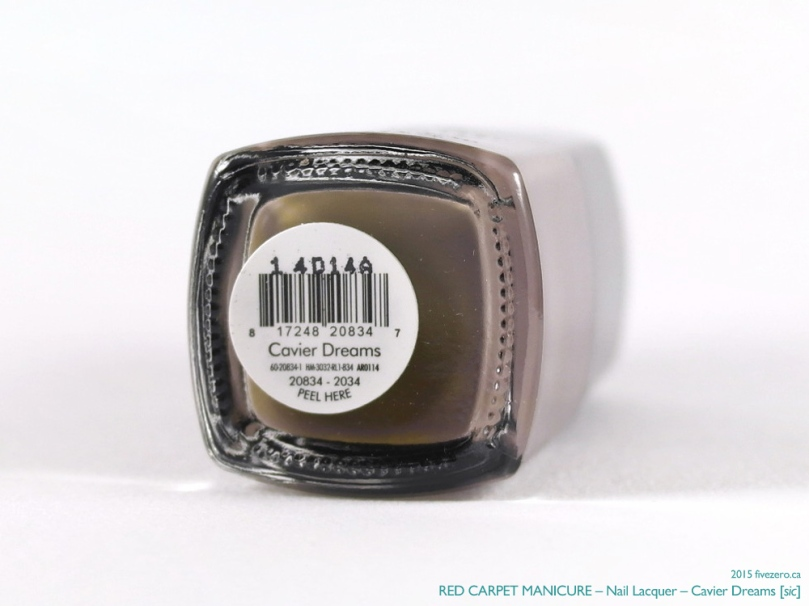 Red Carpet Manicure Nail Lacquer in Cavier Dreams [sic]
