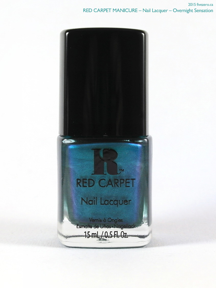 Red Carpet Manicure Nail Lacquer in Overnight Sensation
