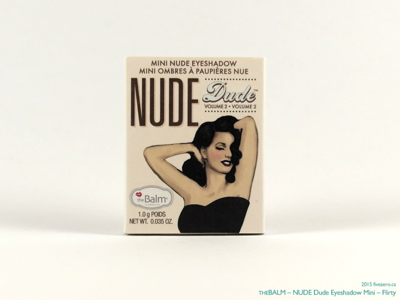 theBalm NUDE Dude Eyeshadow Single in Flirty