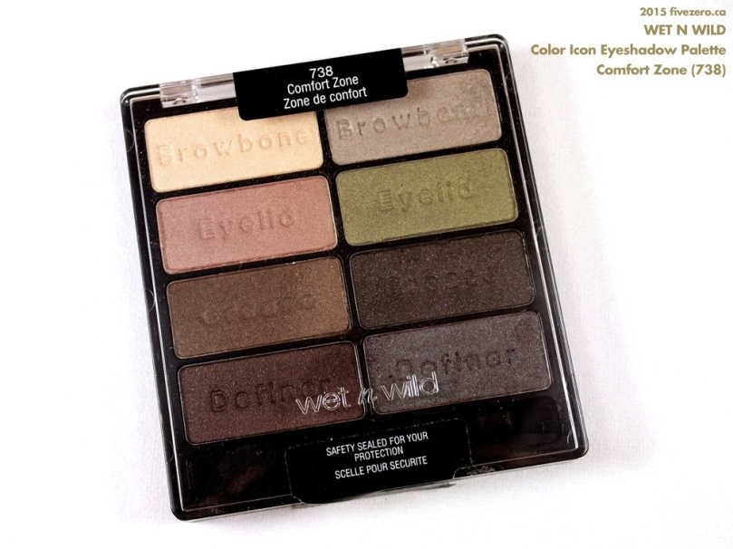 Wet n Wild Color Icon Eyeshadow Palette in Comfort Zone