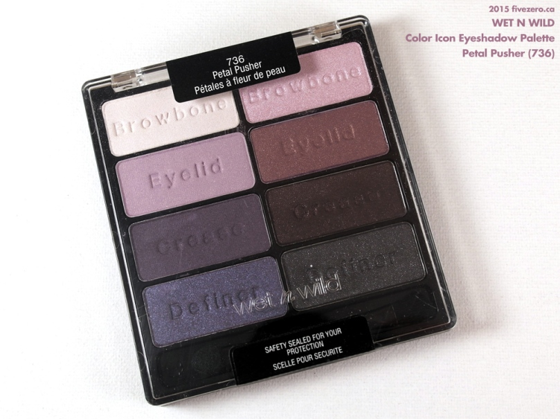 Wet n Wild Color Icon Eyeshadow Palette in Petal Pusher