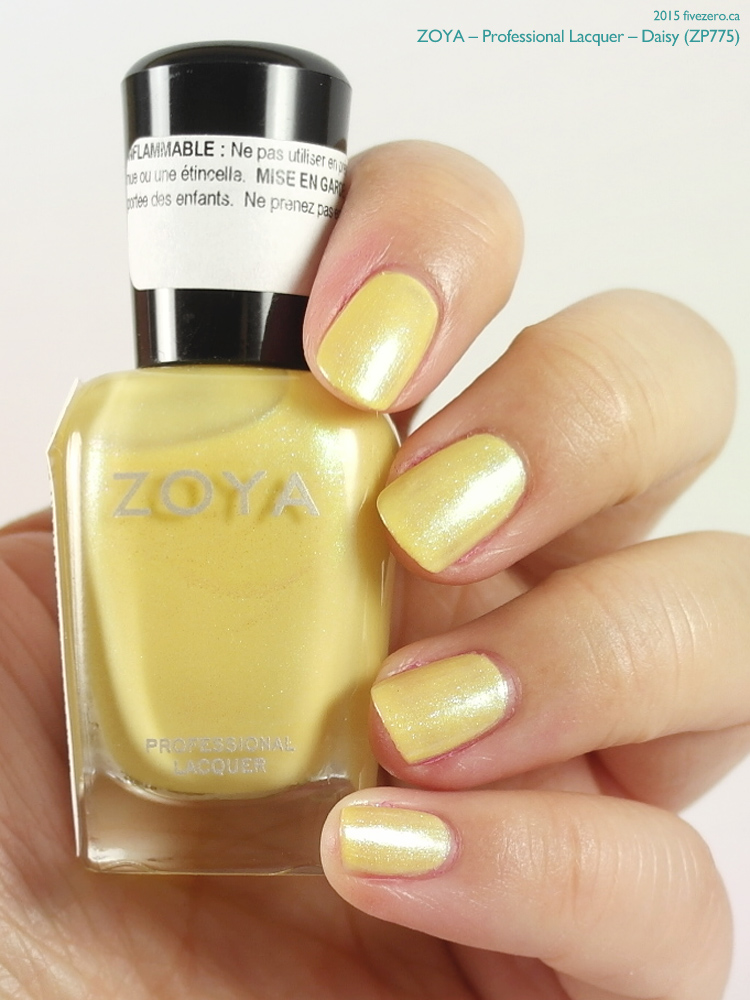 Zoya Professional Lacquer in Daisy, swatch