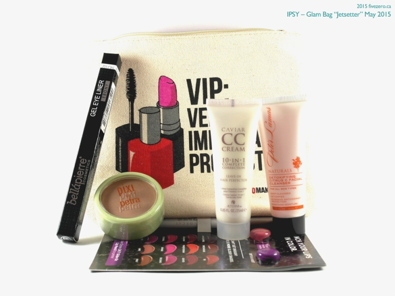 "Ipsy May 2015 Glam Bag ""Jetsetter"""