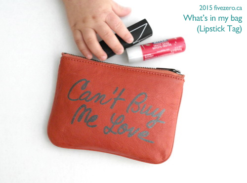 Lipstick Tag: What's in my Rebecca Minkoff pouch