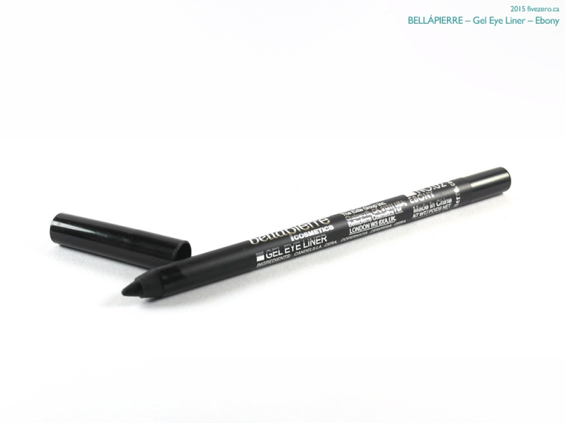 BelláPierre Cosmetics Gel Eye Liner in Ebony