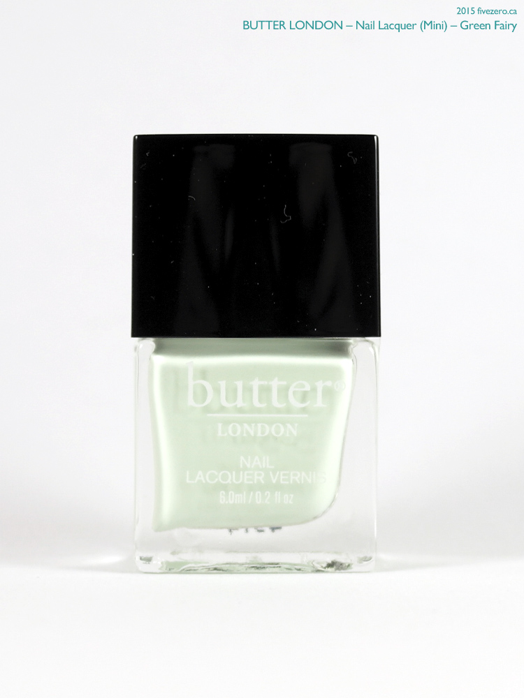 butter LONDON Nail Lacquer (Mini) in Green Fairy