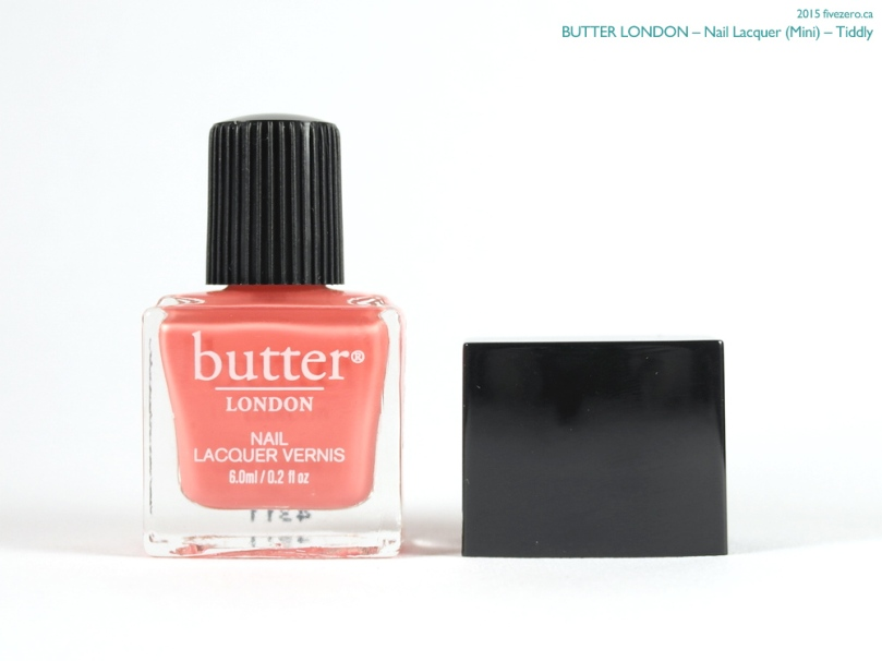 butter LONDON Nail Lacquer (Mini) in Tiddly