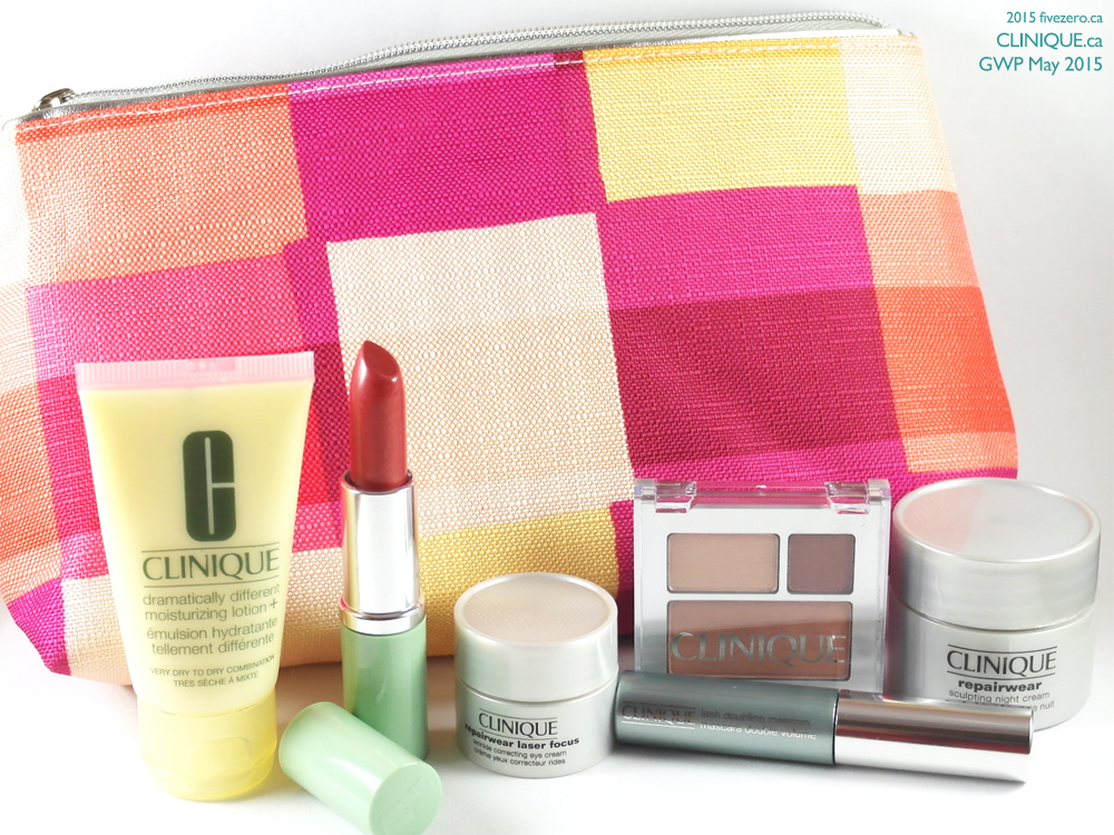 Clinique Bonus Time GWP, May 2015