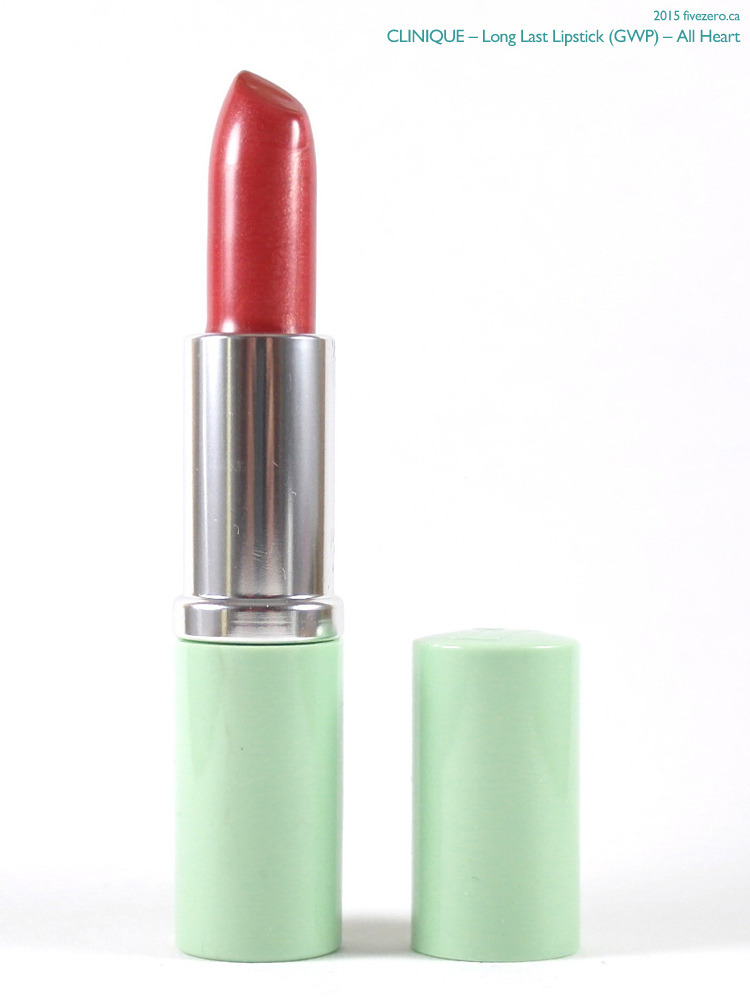 Clinique Long Last Lipstick GWP in All Heart