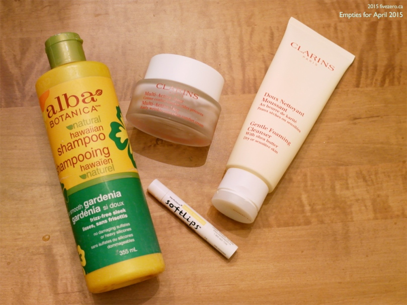 Fivezero's Empties for April 2015