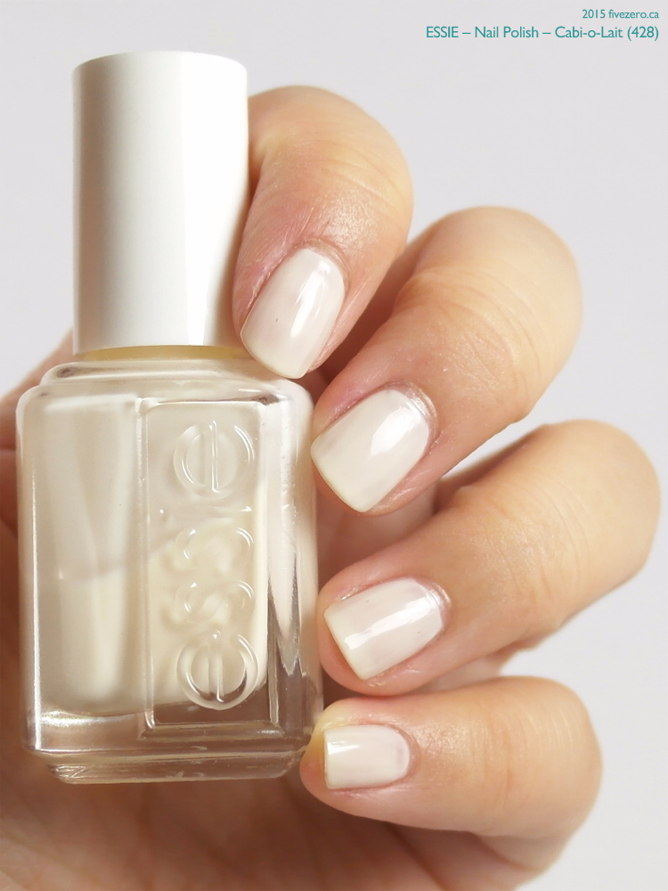 Essie Nail Polish in Cabi-o-Lait, swatch
