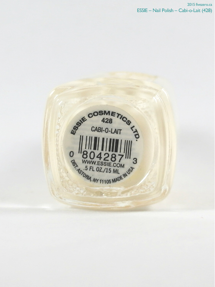 Essie Nail Polish in Cabi-o-Lait, label