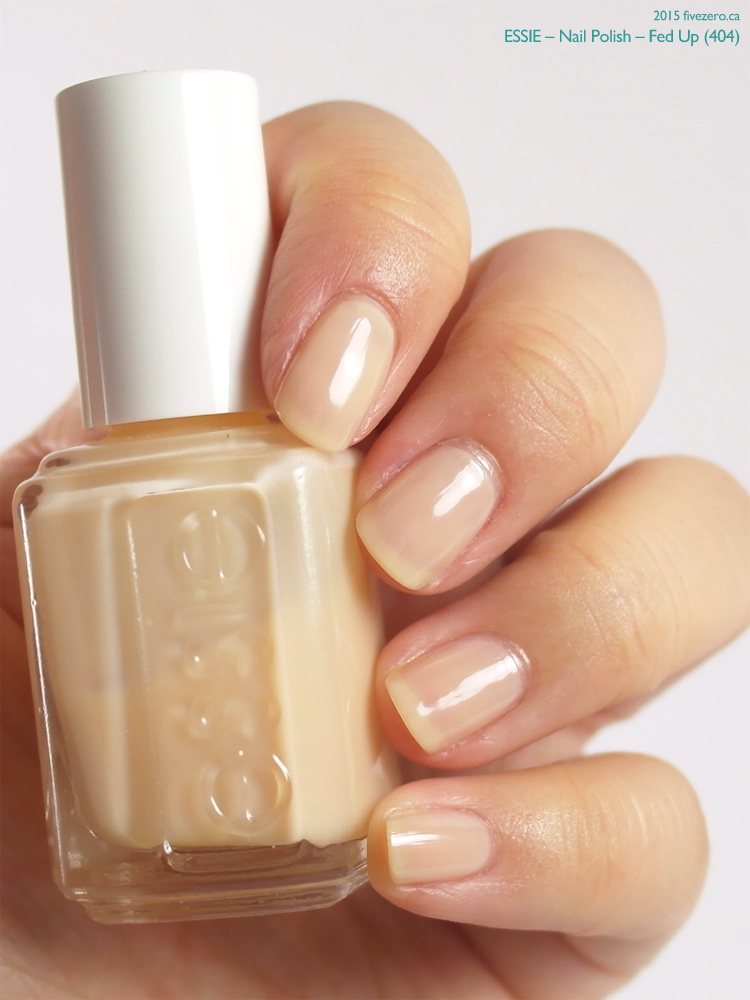 Essie Nail Polish in Fed Up, swatch