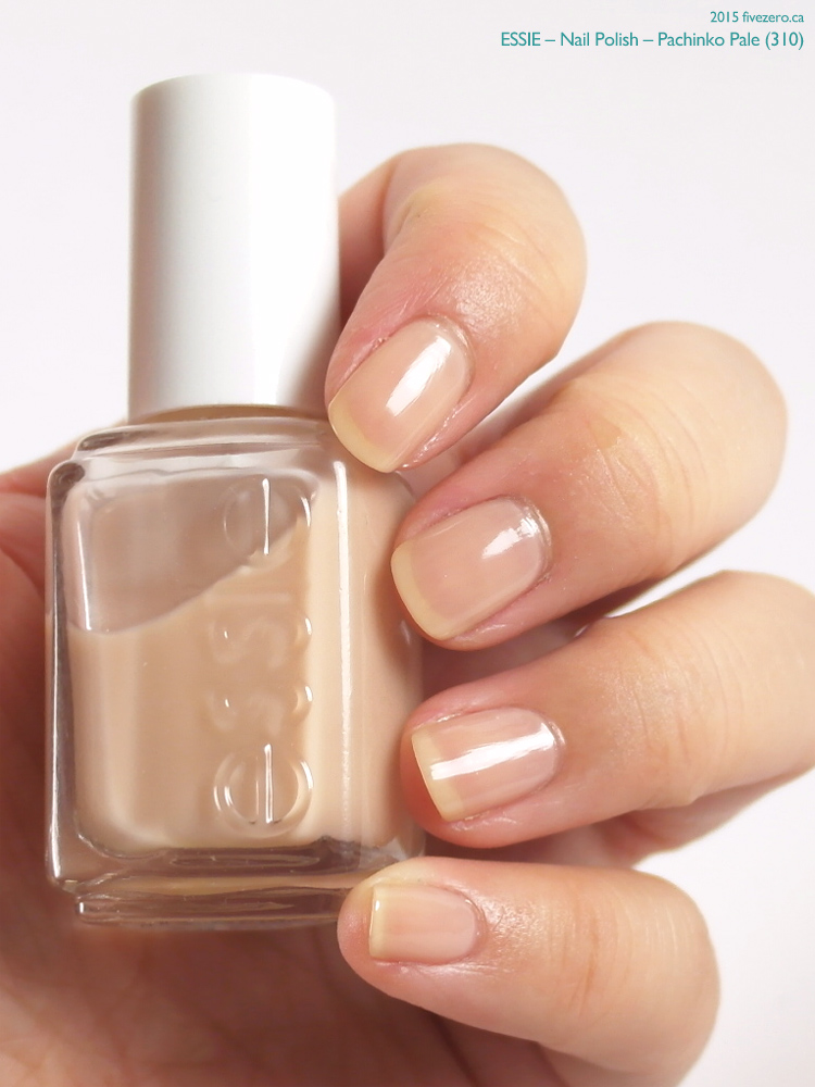 Essie Nail Polish in Pachinko Pale, swatch